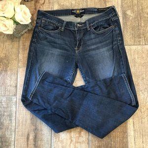 Lucky Brand Charlie Skinny Jeans Women's Sz 10/30